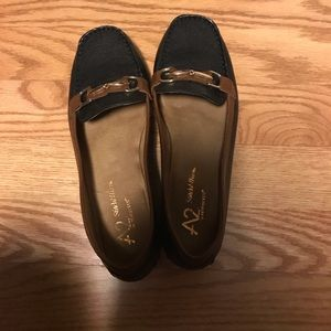 Aerosoles A2 two tone loafers